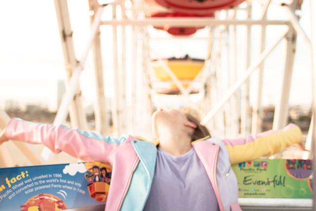 Go to a theme park.