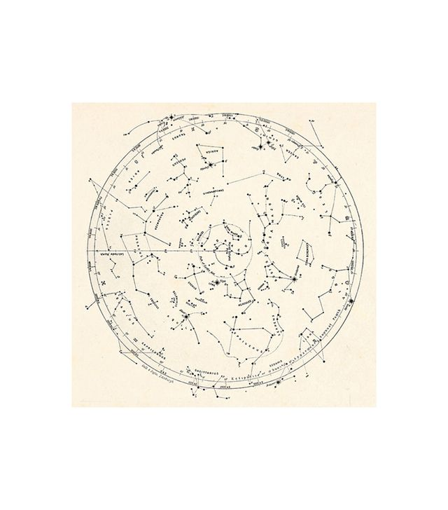 Etsy Vintage Star Map