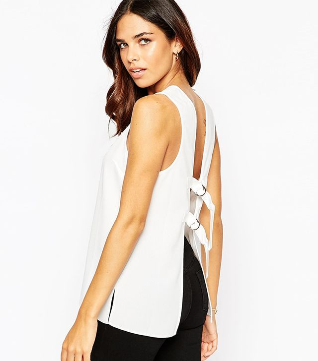 ASOS Open Back Vest