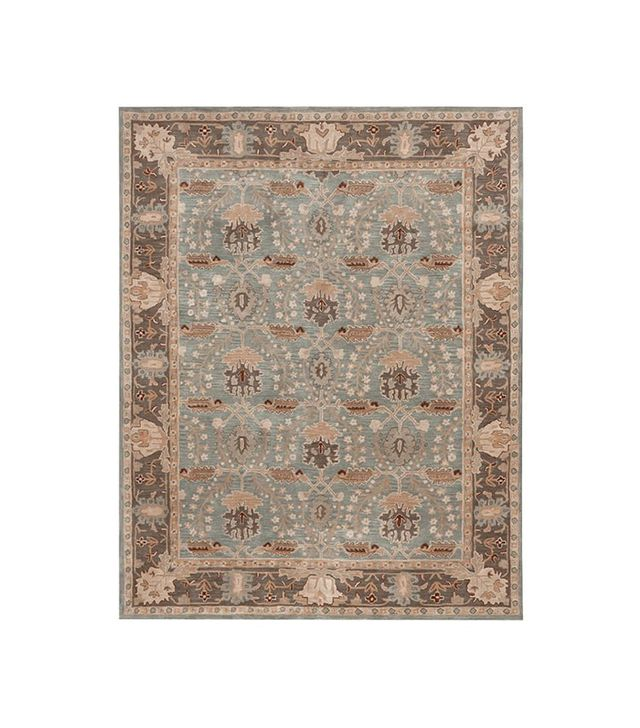 Pottery Barn Brandon Persian Rug in Porcelain Blue