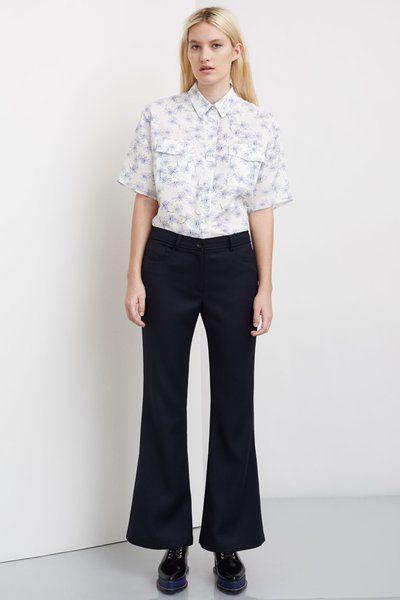 Opening Ceremony Focal Suiting Flared Loren Pants