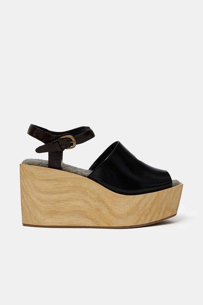 Rachel Comey Bowes Ankle Strap Platform Sandals