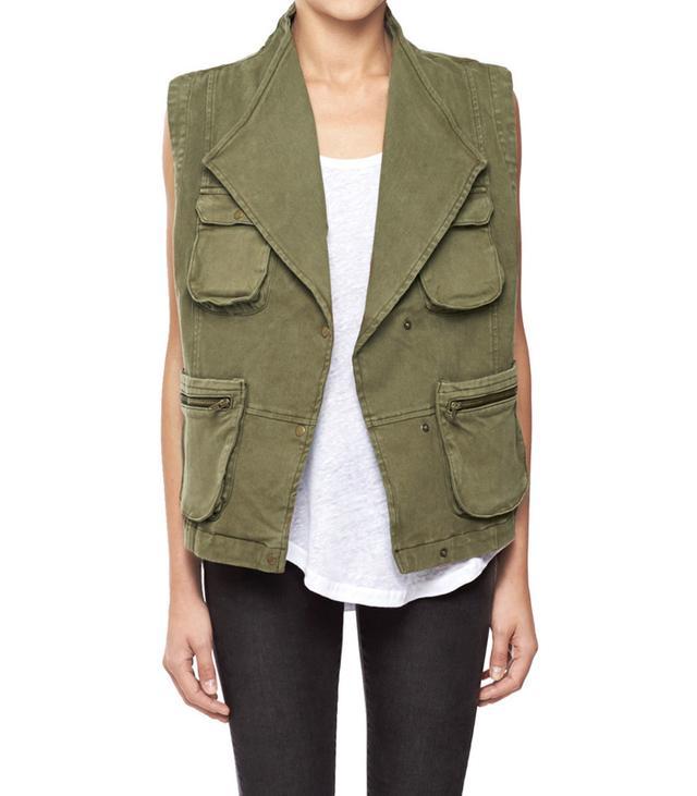 Anine Bing Army Vest
