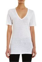 Isabel Marant Isabel Marant Long Short Sleeve V-Neck Tee Shirt