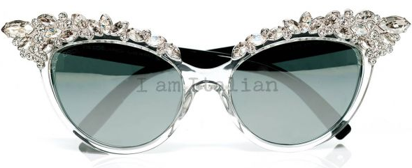 Dsquared Limited Edition Swarovski Crystals Sunglasses