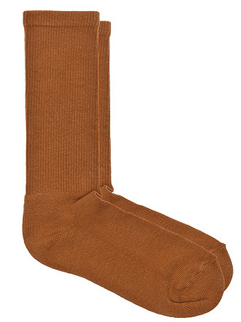 American Apparel Solid Calf-High Socks