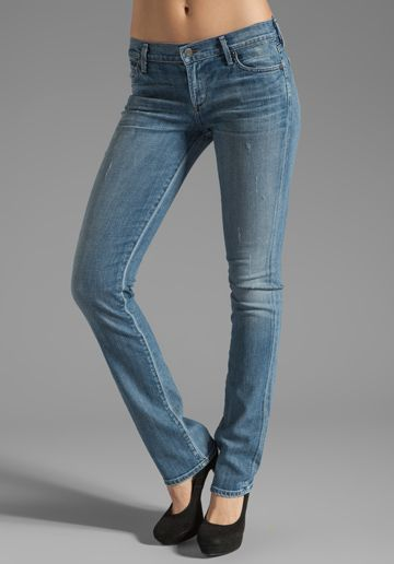 Citizens of Humanity  Ava Classic Straight Leg Jeans