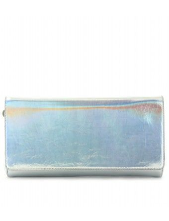 Stella McCartney Metallic Clutch