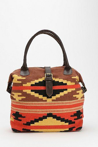 Ecote  Trimmed Tapestry Bag