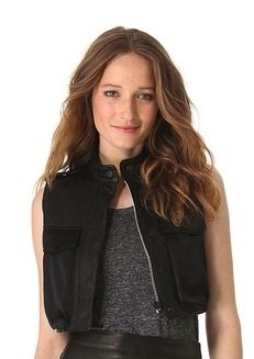 Rag & Bone Rag & Bone Highclare Leather Vest
