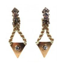 Frieda & Nellie Frieda & Nellie Queen of Rhinestone Paradise Earrings