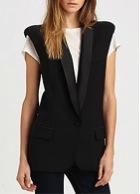 Smythe  Smythe Wool Tuxedo Vest