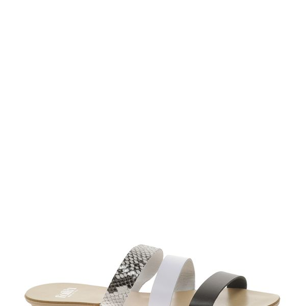 Faith  Javona Slide Flat Sandals