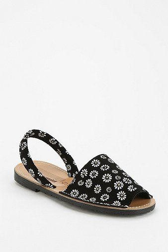 Jeffrey Campbell  Floral Avarca Sandals