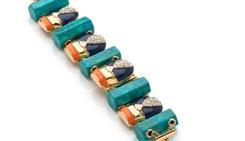Lele Sadoughi Lele Sadoughi Scarab Bracelet