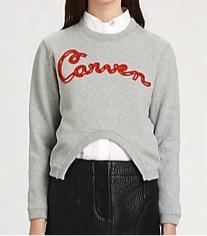 Carven  Carven Cutout Carven Sweatshirt