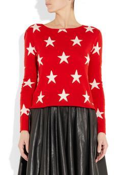 Banjo & Matilda  Star-Intarsia Cashmere Sweater