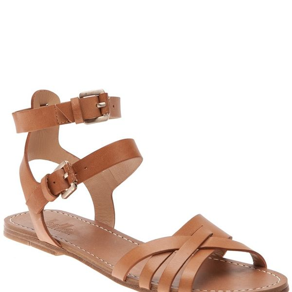 Belle by Sigerson Morrison   Strappy Flat Sandals