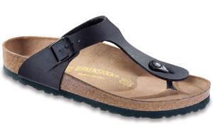 Birkenstock  Gizeh Black Birko-Flor Sandals