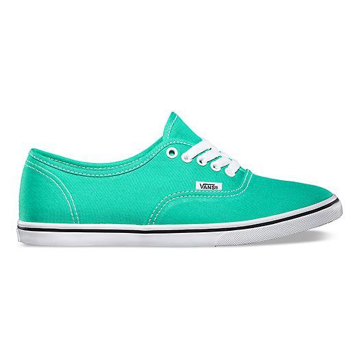 Vans Canvas Authentic Lo Pro Lace Up Shoes