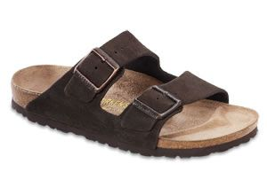 Birkenstock  Arizona Mocha Suede Sandals