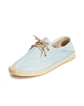 Soludos  Linen Derby Lace Up