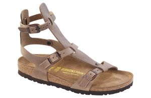 Birkenstock  Chania Tobacco Oiled Leather Sandals