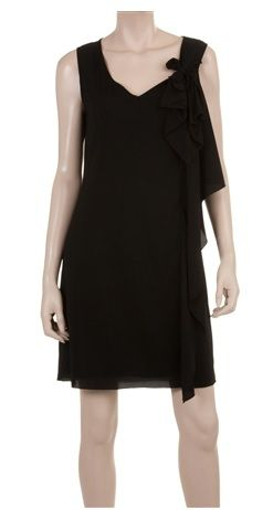 Max Studio  Side Drape Dress