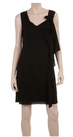 Max Studio  Side Drape Dress