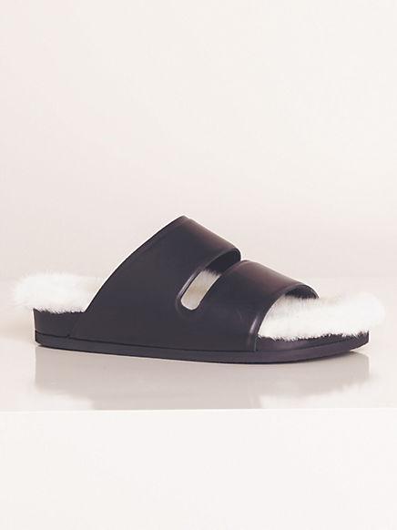Celine Boxy Flat Strap Sandals