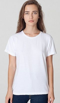 American Apparel  Unisex Power Washed Tee Shirt