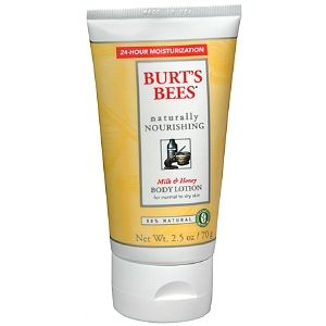 Burt's Bee's Naturally Nourishing Milk & Honey Body Lotion