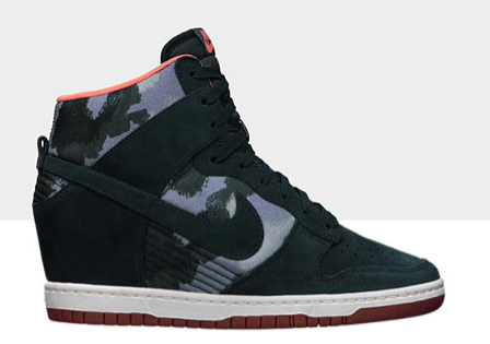 Nike Dunk Sky Hi Print Shoes