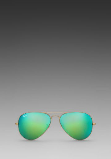 Ray-Ban Large Metal Flash Lense Aviators
