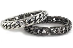 Fallon Jewelry  Fallon Jewelry Classique Biker Chain Cuff