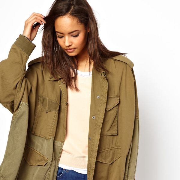 Diesel Relaxed Parka