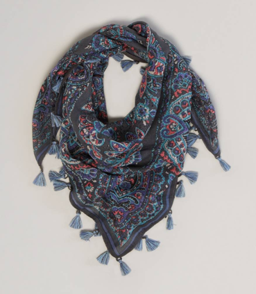 American Eagle Outfitters Paisley Square Scarf