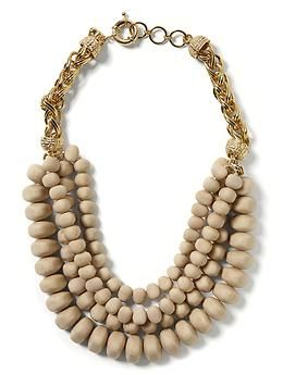 Banana Republic  Bold Bead Necklace