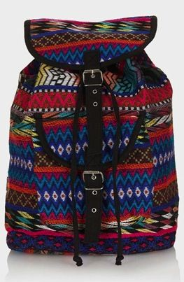 Topshop Topshop Ikat Backpack