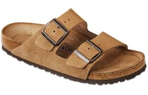 Birkenstock  Birkenstock Arizona Footbed Suede Sandals