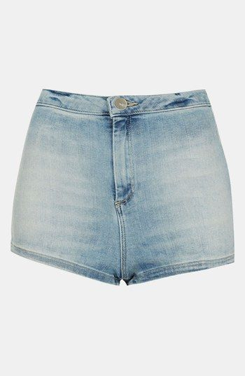 Topshop  Moto Francis Denim Hot Pants