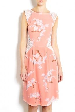 Tabitha Webb  Exclusive Fashion Targets Breast Cancer Summer Blossom Dress