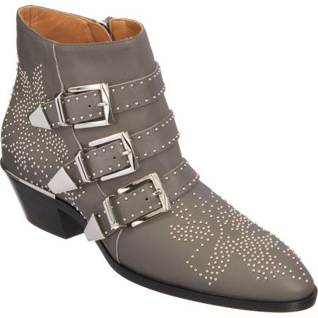 Chloe  Susan Studded Ankle Boots