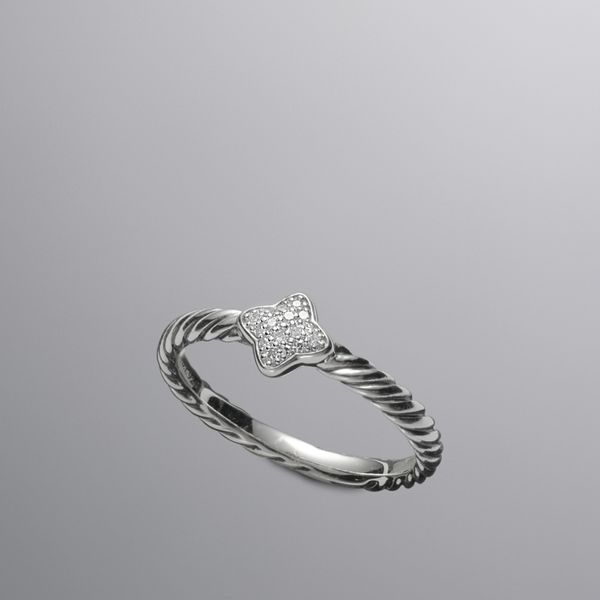 David Yurman Quatrefoil Stack Ring