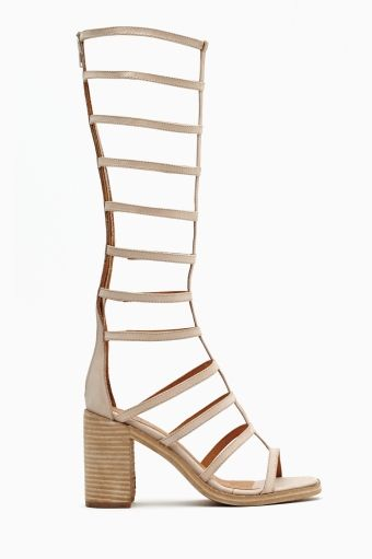 Nasty Gal  La Cage Gladiator Sandals
