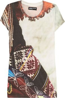 Mario Testino for Mate  Pisac Cotton-Blend Jersey T-shirt