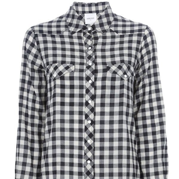 Laurence Dolige  Checked Shirt