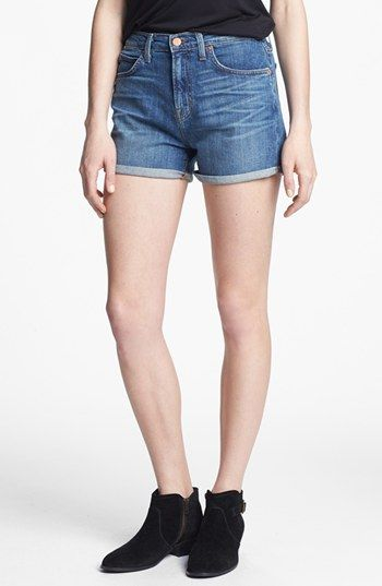 J Brand  High Waist Denim Shorts