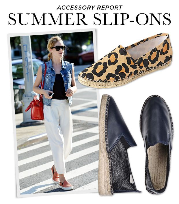 Who Needs Laces? Slide Into Summer's Slip-On Shoes
