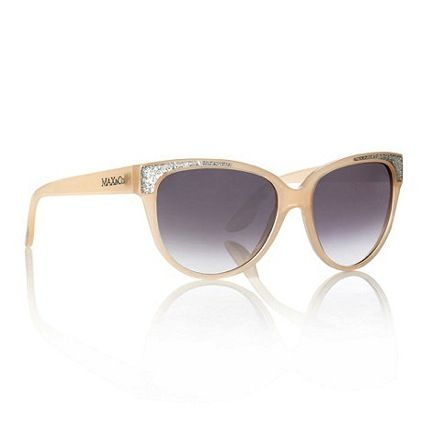 Max&Co  Glitter Cornered Cat Eye Sunglasses